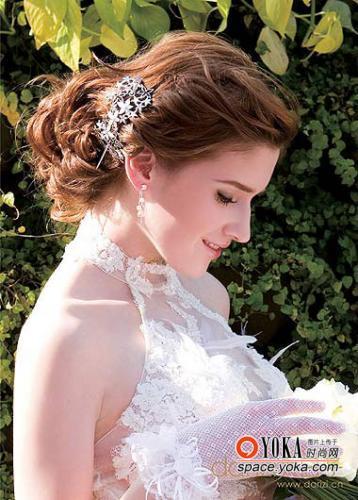 美丽新娘最新欧式宫廷发型