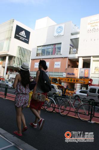 原宿夏日风之一 xiyijie的时尚博客 yoka时尚博客