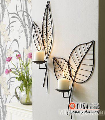 叶子烛台 xiaoyude的时尚图片 YOKA时尚空间图片