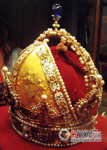 王朝神圣罗马帝国年成鲁道夫二世皇冠,1804皇帝为奥地利的皇冠泗阳别墅图片
