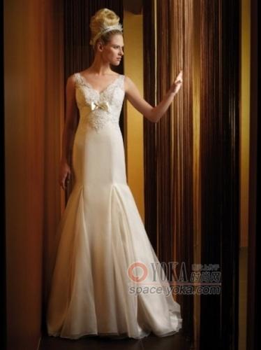 欧式复古婚纱,公主般新娘