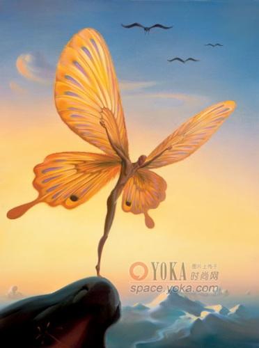 意象油画 艾乾的时尚图片 YOKA时尚空间