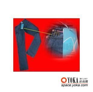 莫卡牛仔减肥牛仔裤3 菲比寻常美的时尚图片 yoka时尚空间