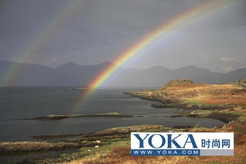 绝美!世界最绚丽最壮观的彩虹