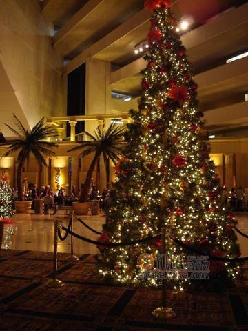 LUXOR酒店圣诞装饰 Candycg的时尚图片 YOKA时尚空间图片
