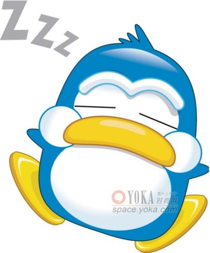 《大肚子企鹅卡通简笔画》>>2015羊年卡通简笔画>>