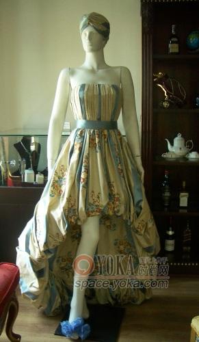 刺绣大礼服 lavenement的时尚图片 YOKA时尚空间