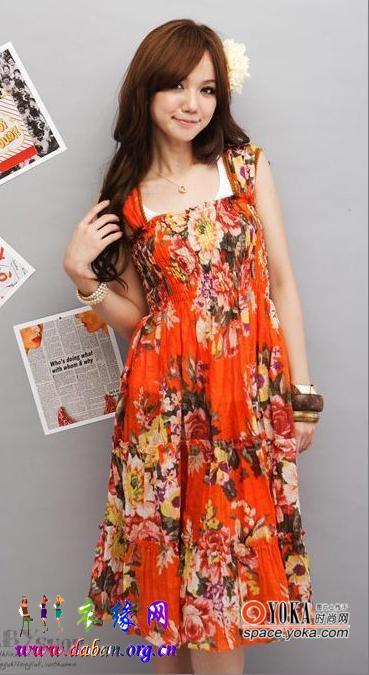 夏季流行服饰搭配图片
