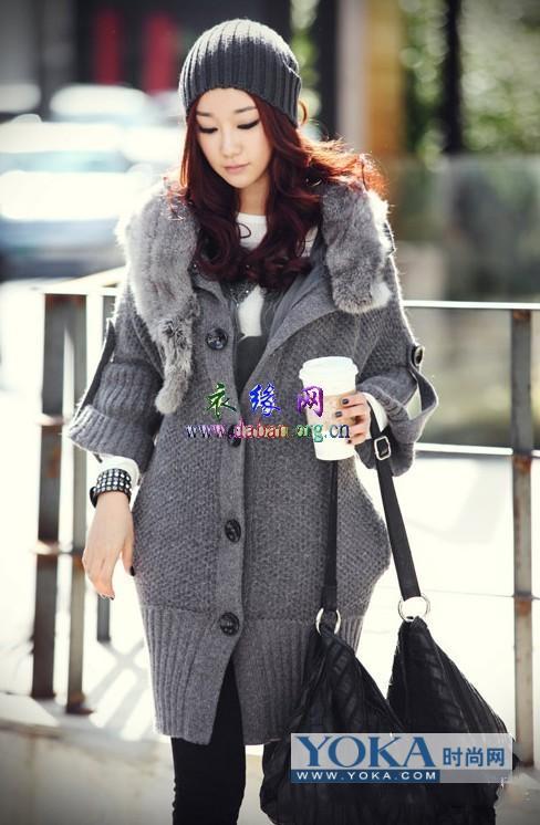 时尚韩式冬季流行服装搭配