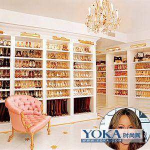 明星们的鞋柜