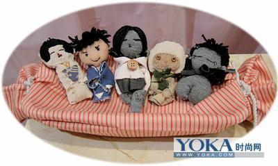 古代女童不果,却发现了头顶发髻的日本木偶娃娃很