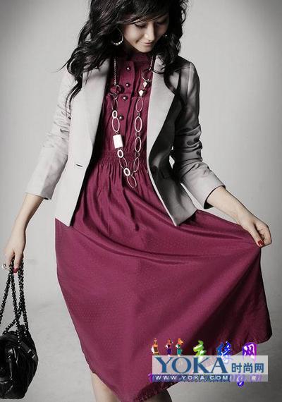 时尚ol春季服装搭配图片