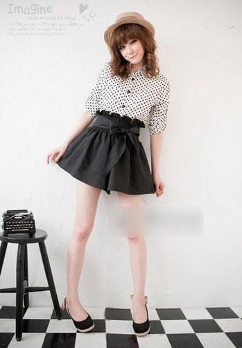 可爱女孩夏季服装搭配图片(2) _经验分享网