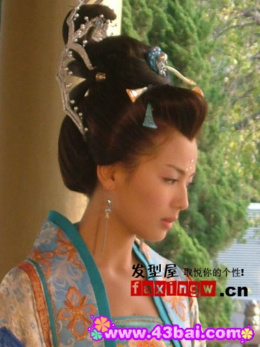唐朝古装发型图片