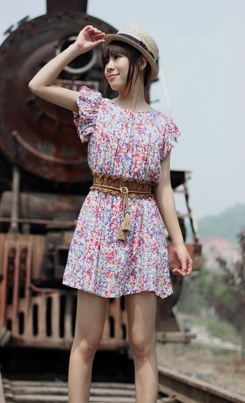 夏季服装搭配图片-网友的最IN夏季服装搭配