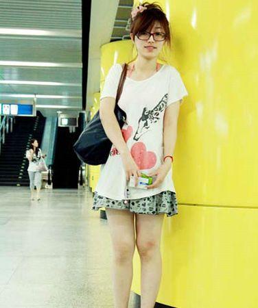 北京地铁潮人的夏季服装搭配
