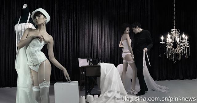丝袜情欲乱价_情欲是创作中永远的主题; 绯闻造型作品——情欲裁缝店;; 丝袜腿模;