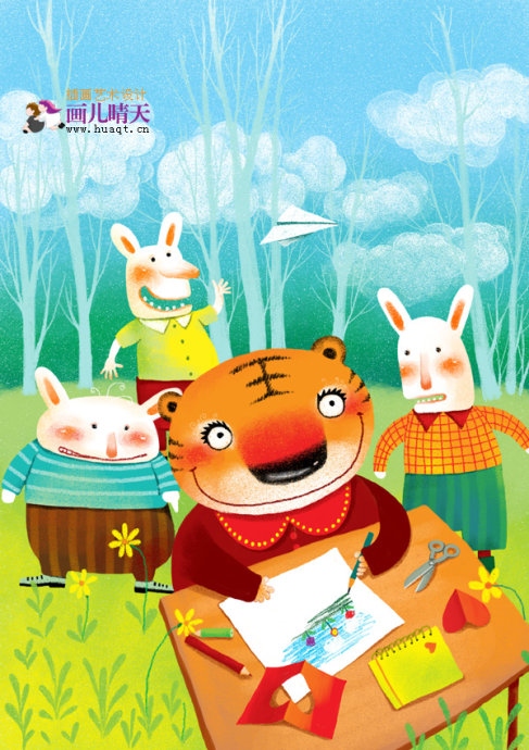 封面设计封面插画|儿童插画|